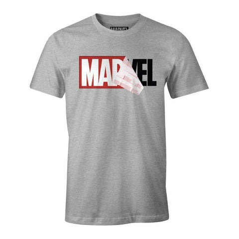 "T-Shirt Marvel unisexe ""Logo""-Very Bad Geek"
