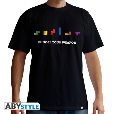 "T-Shirt Homme - Tetris ""Choose your Weapon"""