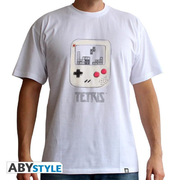 "T-Shirt Homme - Tetris ""Gameboy Cartoon"""