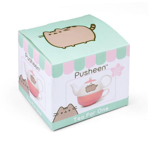 Théière et Tasse Pusheen-Very Bad Geek