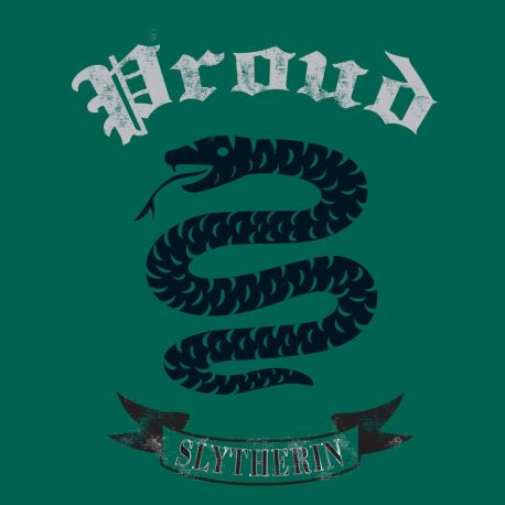 "T-shirt femme ""Proud"" Serpentard - Harry Potter-Very Bad Geek"