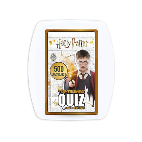 Quiz TopTrumps - Jeu de société Harry Potter-Very Bad Geek