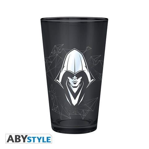 Verre Assassin's Creed argenté-Very Bad Geek