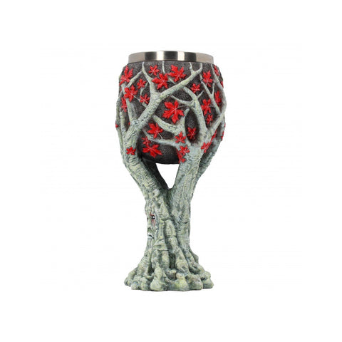 "Verre à vin Game of Thrones artisanal ""Weirwood Tree"" - Sculpture Collector-Very Bad Geek"