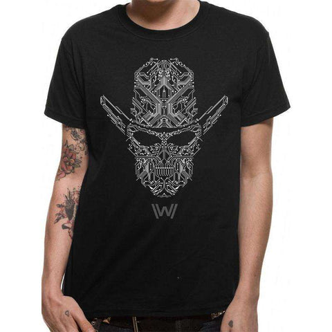 "T-Shirt Unisexe - Westworld ""Circuit Face"""