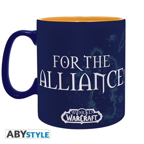 Mug World of Warcraft - Alliance 460ml-Very Bad Geek