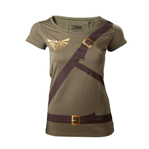 "T-Shirt Femme - Zelda ""cosplay""-Very Bad Geek"