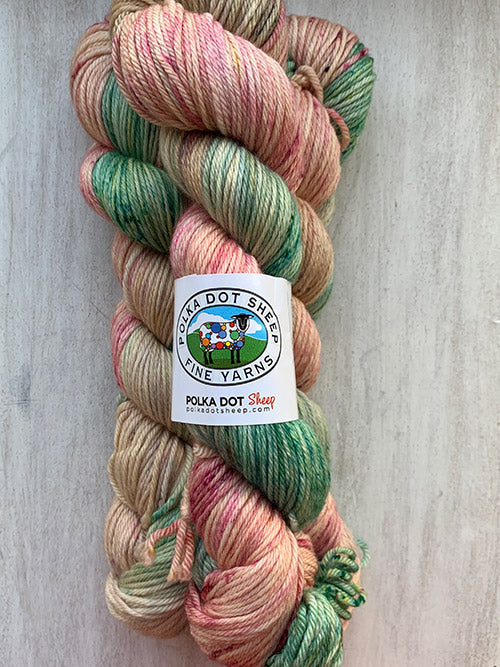 Polka Dot Sheep Whitefish Worsted