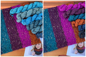 Mountain Colors Snowfall Cowl Kits