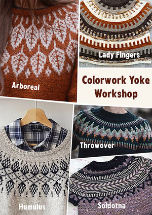 Colorwork Yoked Sweater workshop