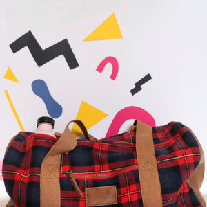 Bohin Plaid Duffel