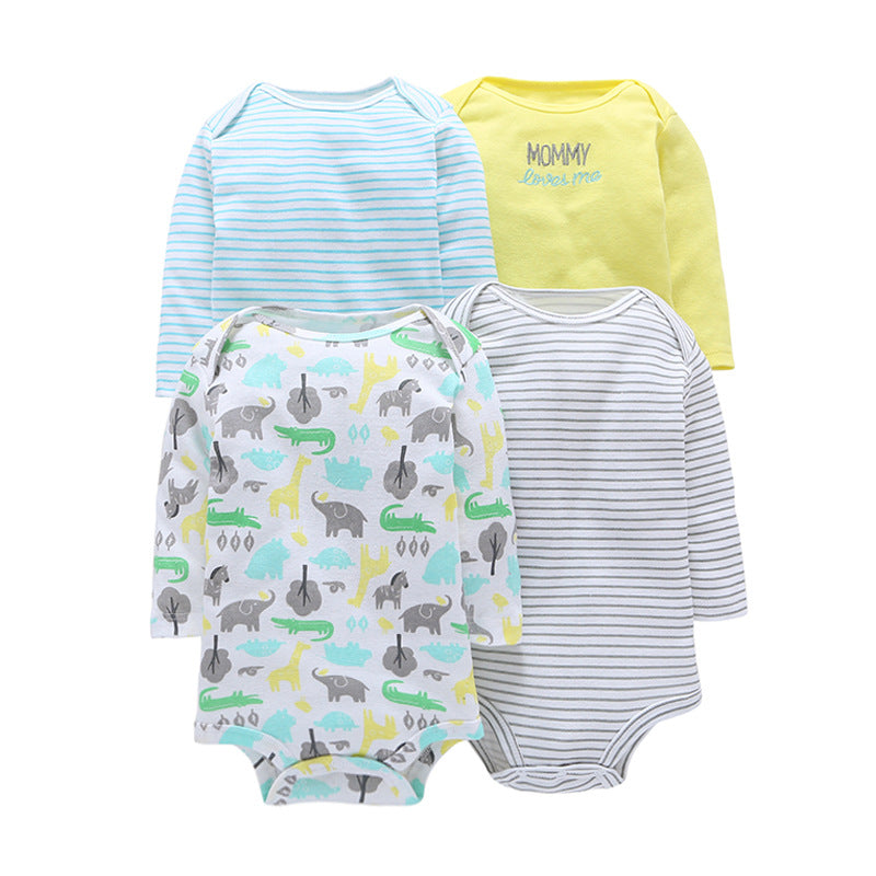 0834b770a 4-Pack ZOO Original Bodysuits – Tiny Impact Co