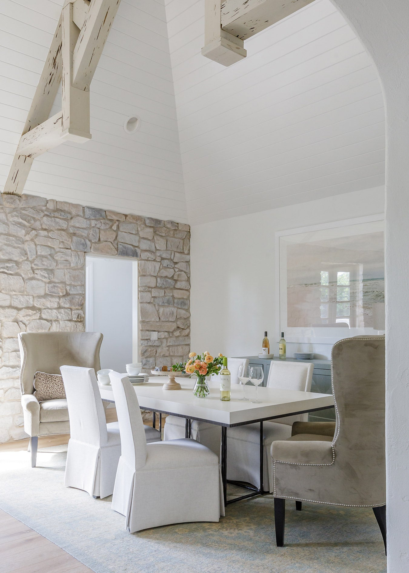 Interior of Dining Room by Nesting Place Interiors