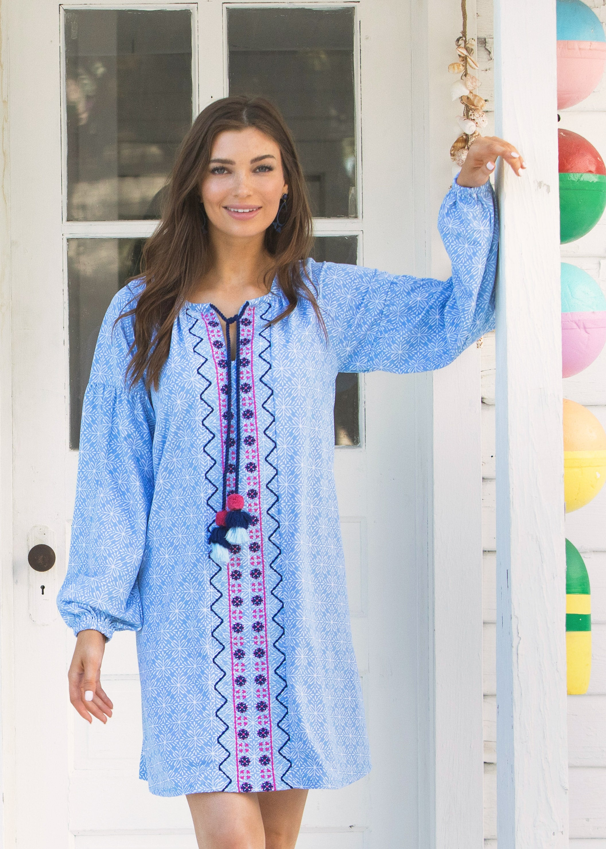 West Indies Tassel Cover Up