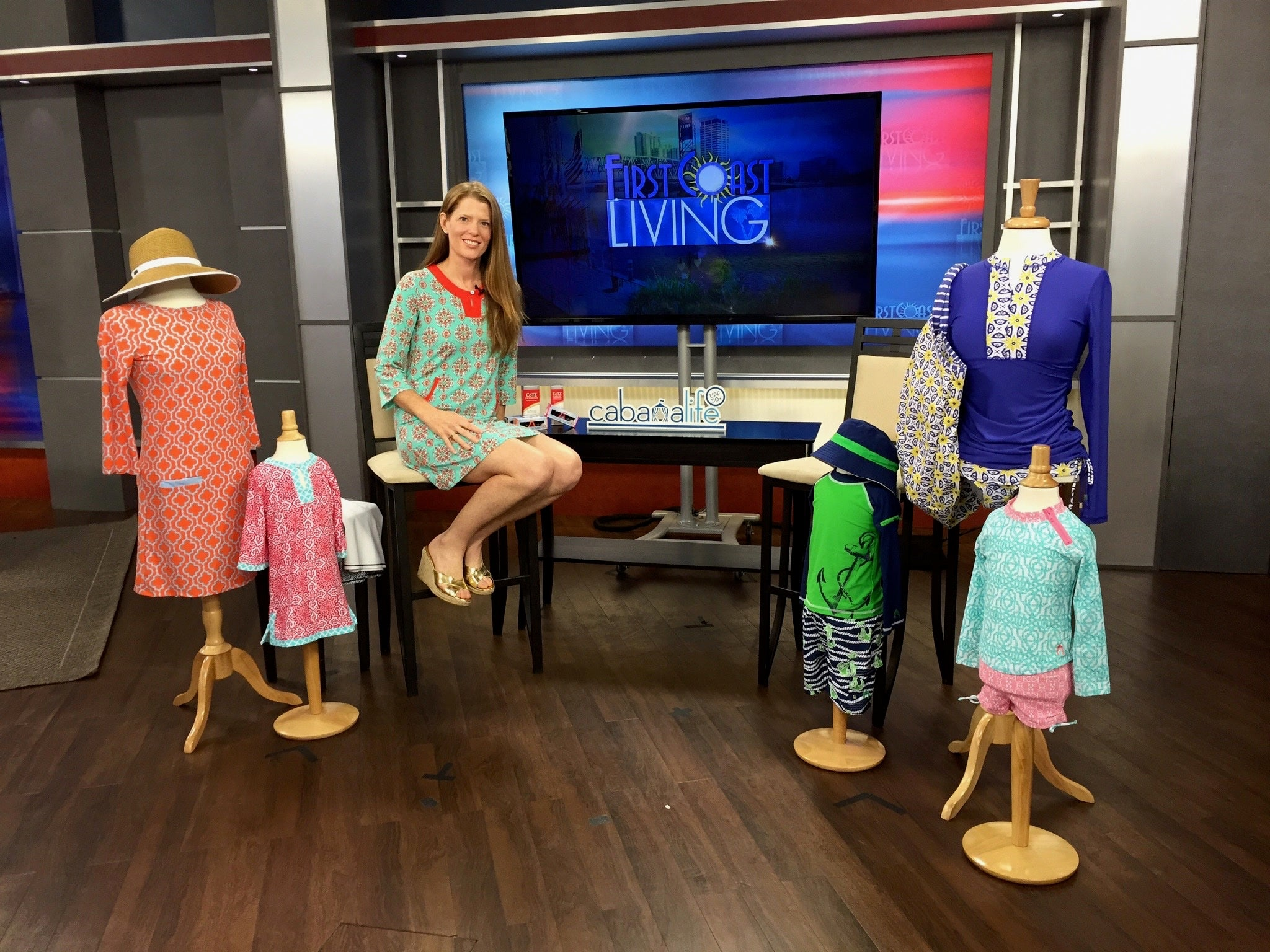 Cabana Life Founder with designs on tv