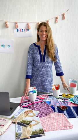 Cabana Life Founder Melissa Papock with 2021 Exclusive Talbots Collaboration