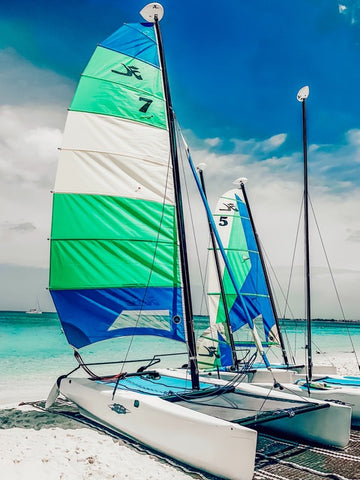 Sailboat in Grand Cayman