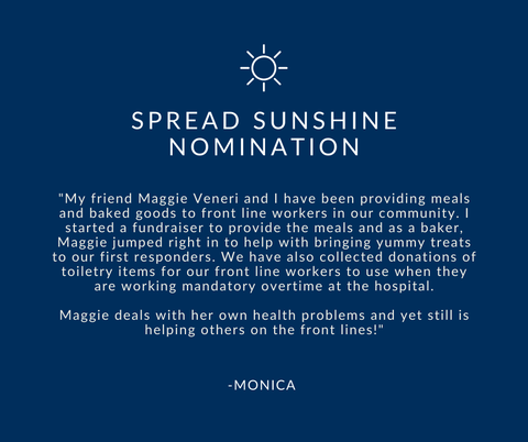 Spread Sunshine Nomination - Monica