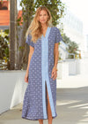 Woman wearing Cabana Life West Indies Maxi Dress