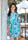 Sample Preppy Palm Tunic Dress
