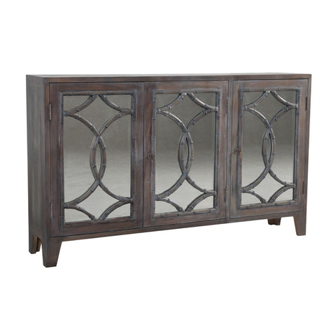 Guild Master Bedford Credenza Buffet in Heritage gray dark