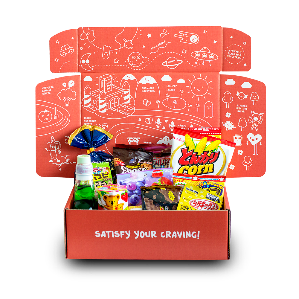 CraveJapan Box 12 Month Subscription