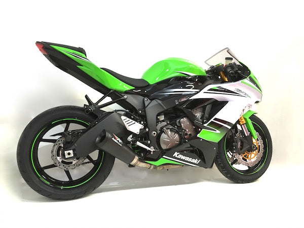 KAWASAKI ZX636/ZX6R AUSTIN RACING GP3 DE-CAT EXHAUST GP3 ...