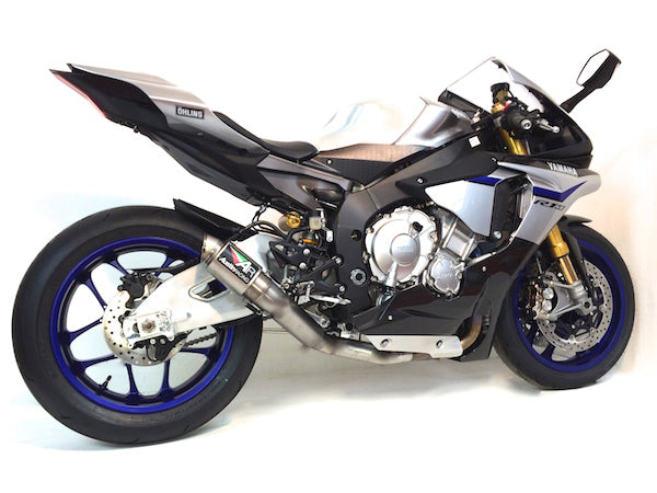 Yamaha R1 2015 Austin Racing Decat Exhaust System Gp1r Silver Tip With Titanium Can: 2015 R1 Exhaust At Woreks.co