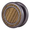 Woodland Yoyo - Silver Sconce - Zebrawood (Right)