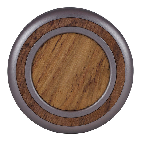 Woodland Yoyo - Silver Sconce - Honduran Rosewood (Front)
