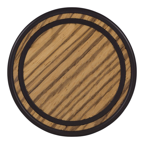 Arbor - Blackened Pearl - Zebrawood (Front)