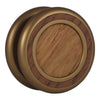 Woodland Yoyo - Antique Bronze - Honduran Rosewood (Left)