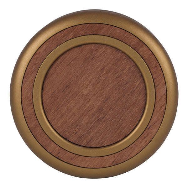 Woodland Yoyo - Antique Bronze - Bubinga (Front)
