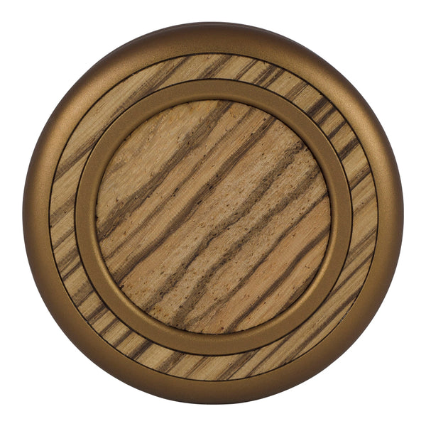 Woodland - Antique Bronze - Zebrawood