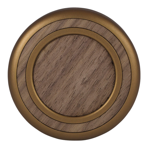 Woodland Yoyo - Antique Bronze - Walnut (Front)