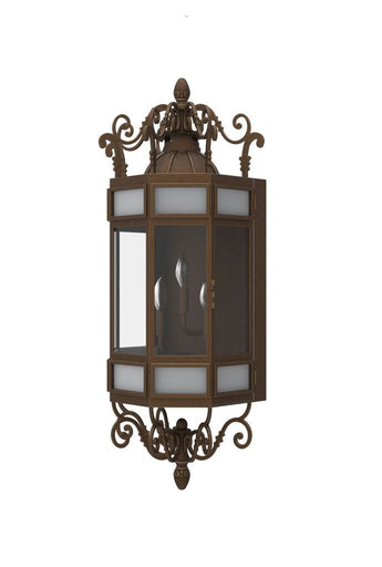 Uber Price Quote >> Solara Outdoor Iron Lighting | Flush-Mount Wall Sconces