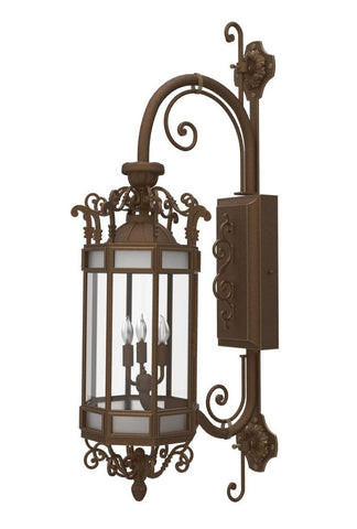 Alexandria Iron Light - Wall Sconce - Lighting Outdoor Lighting Sconces
