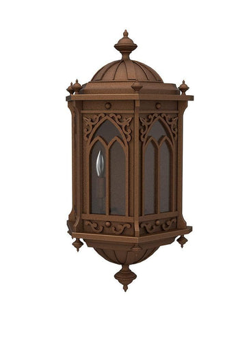Barcelona Iron Light - Flush Scone - Flush-Mount Wall Sconces Outdoor Lighting