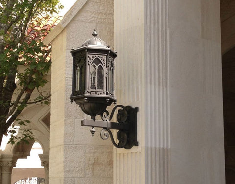 Barcelona Iron Light - Wall Sconce - Lighting Outdoor Lighting Sconces