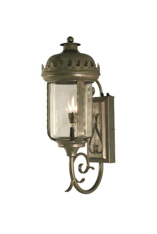 Bellagio Iron Light - Wall Sconce - Brass Lighting Outdoor Lighting Sconces