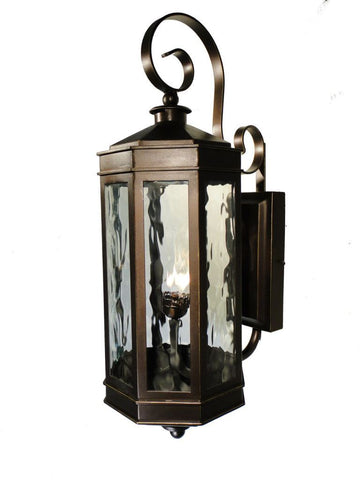 Century Iron Light - Wall Sconce - Brass Lighting Outdoor Lighting Sconces