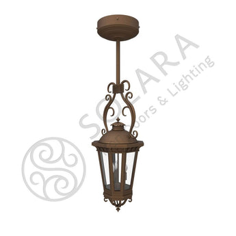 Constantino Iron Light - Pendant Stem - Lighting Outdoor Lighting Stem-Mount Lights