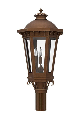 Constantino Iron Light - Post - Lighting - Mount Outdoor Lighting Lights Mount- Landscape 05
