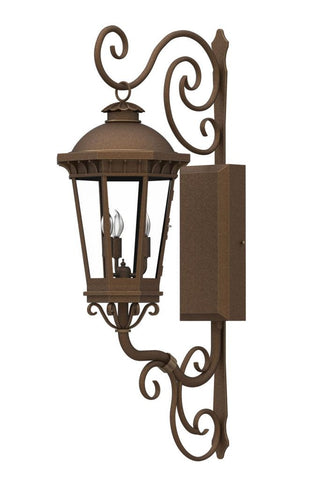 Constantino Iron Light - Wall Sconce - Lighting Outdoor Lighting Sconces