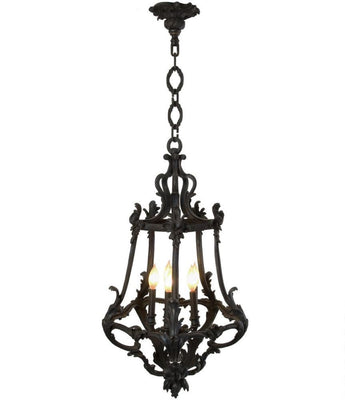 Solara custom iron and steel pendant lights french pendant cast bronze light chain 04 mount lighting only electric outdoor lighting aloadofball Choice Image