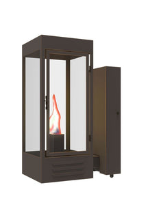 MoMa Iron Light - Wall Sconce  sc 1 st  Solara Custom Doors u0026 Lighting & Solara Outdoor Lighting | MoMA Iron Wall Sconce