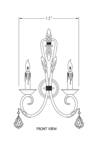 Reina Sconce - Sconces Series Sc