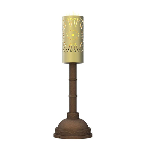 Tiki torch light pier tiki torch light pier fire pits torches wet area 08 outdoor lighting aloadofball Image collections