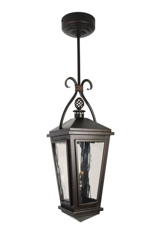 venice iron light pendant stem