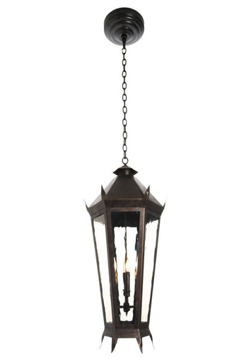Viking Iron Light - Pendant Chain - 04 Mount Chain-Mount Lights Brass Lighting - Only Electric Outdoor Lighting
